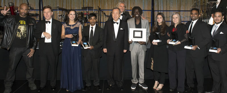 2013 UNCA Awards Winners Group Photo